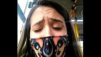 Flagra De Novinha Tocando Siririca No Ônibus