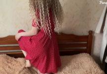 Gozando Dentro do Cuzinho de Novinha de Vestido