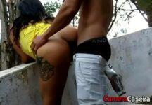 Sexo Com Puta Gostosa na Rua Deserta